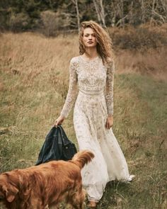 vintage boho | Tabitha Gown from BHLDN  Virginias Vintage Hire Loves!