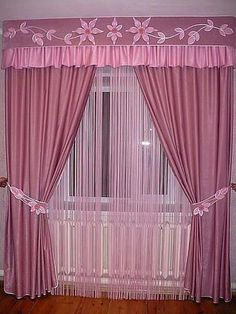 icu ~ Pin on Drapes And Curtains ~ Have a look at this magnificent photo - what a creative project Cute Curtains, Curtains And Draperies, Elegant Curtains, Outdoor Curtains, Beautiful Curtains, Colorful Curtains, Bedroom Furniture Design, Home Decor Furniture, Living Room Decor Curtains