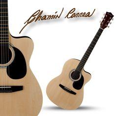Guitarra Acústica Chamin Correa Color Natural *Hasta agotar existencias* Sorprende a tus amigos y vuélvete el alma de las reuniones tocando una guitarra como la Acústica Chamin Correa.