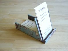 business card holder & stand