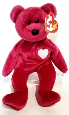 19ea140ec3a Rare Valentina Beanie Baby 1998 errors Un-Numbered Rare  amp  more  Ty