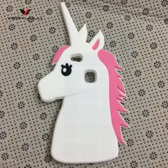 >> Click to Buy << Hot!! Cute 3D Cartoon Anime White Unicorn Horse Soft silicone phone cover For Huawei P10/P10 Lite Couqe capa fundas funny case  #Affiliate