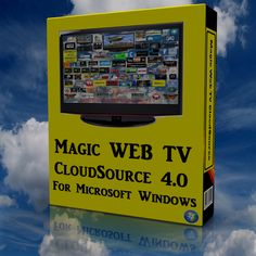 Magic Web TV CloudSource for Windows