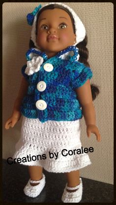 """Outfit for 18"""" doll"""