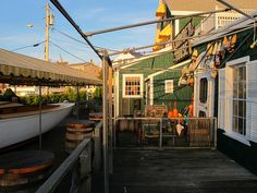 Boat Bar Boothbay Harbor Maine
