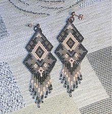 Náušnice - Farebné vzory - 3246401