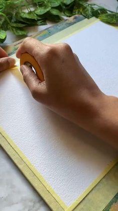 Watercolor Art Lessons, Watercolor Paintings For Beginners, Watercolor Drawing, Watercolor Bookmarks, Colorful Drawings, Art Drawings, Prima Marketing, Diy Canvas Art, Pastel Art