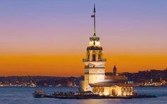 Girl towers İstanbul- TURKEY
