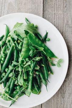 Green Bean Salad with Mustard Seeds and Tarragon — Pixels + Crumbs