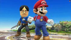Mii's playable in new Smash Bros.