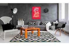 Für einen minimalistischen Raum in abgetönten Farben empfehlen wir eine ausdrucksvolle Dekoration #wandbild #wandbilder #plakatstil #lustige #aufschrift #schweinchen #artgeist
