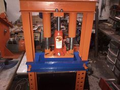 Shop Press by riaanras -- A press I have made from one of the forums I have seen on this...