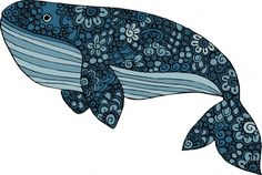 Free printable blue whale coloring page for kids, teenagers and adults to print and color. Inspire creativity!