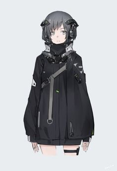 Safebooru is a anime and manga picture search engine, images are being updated hourly. Female Character Design, Character Design References, Character Design Inspiration, Character Concept, Character Art, Concept Art, Black Bullet, Sci Fi Characters, Girls Characters