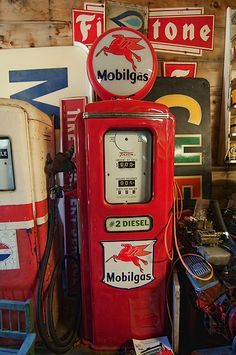 Diesel #2 Love these old gas pumps!