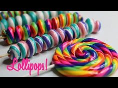 🍭 How to make Fake Lollipops and Lollipop Twist Candy Land Christmas, Candy Christmas Decorations, Christmas Diy, Lollipop Decorations, Homemade Christmas Crafts, Outdoor Decorations, Christmas Ornaments, Fake Cupcakes, Fake Cake