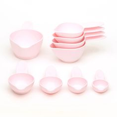 POURfect  9pc Pink Measuring Cup Sets are the worlds largest assortment of sizes