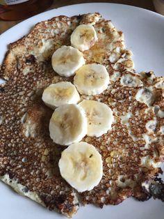 21/07 Banana and syrup pancakes