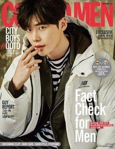 Lee Jong Suk in Cosmopolitan Korea December 2016 Lee Jong Suk, Jung Suk, Lee Jung, Korean Star, Korean Men, Korean Actors, Young Male Model, Doctor Stranger, Bok Joo