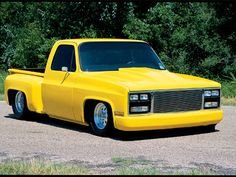 1979 Pro Street Chevy Pickup Front Side View