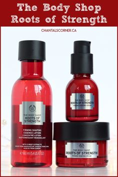 NEW at The Body Shop: Roots of Strength Collection - Chantal's Corner Body Shop At Home, The Body Shop, Body Shop Skincare, Beauty Corner, Skin Routine, Smell Good, Nice Body, Body Care, Serum