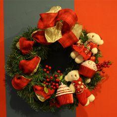 Guirlandas infantis, são tudo de bom ;) #natal #natal2016 #christmas #urso #cupcakes #guirlanda #enfeitedenatal