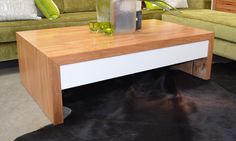 Marri and Jarrah Baye Coffee Table WA Made – General Store Furniture & Homewares