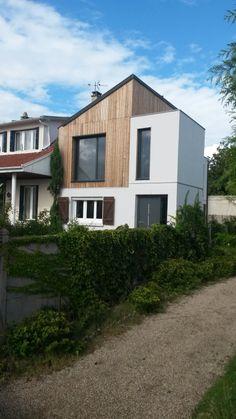M2 Et Compagnie   Pierre Labourdette   Architecture Bois   Wood House    Surélévation   Chatou
