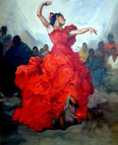 Flamenco Dancer by Francisco Rodriguez San Clement. | A R T ~ Y ☞ O l é! | Pinterest | Flamenco Dancers, Flamenco and Francisco D'souza www.pinterest.com736 × 903Buscar por imagen
