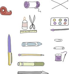 Free pdf of arts and crafts supply labels
