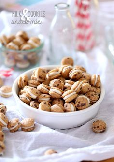 Cookies and Cups Milk and Cookies Snack Mix - Cookies and Cups