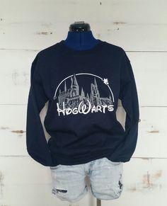Suéter del castillo de Hogwarts, Harry Potter sudadera, Castillo de Hogwarts, Harry Potter camiseta, Hogwarts, Harry Potter ropa, suéter de Harry Potter