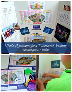 Build Excitement for a Disneyland Vacation - Crafty Mama in ME!