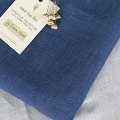 linen, fabric, sharkblue, korea, linencloset, lifestyle, blue, natural