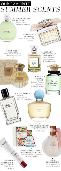 Our Favorite Summer Scents