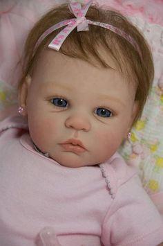 CUSTOM ORDER Reborn Doll Baby Girl Shannon by Ann Timmerman CUSTOM ORDER