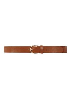 Tan Crescent Jean Belt