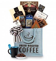 Coffee & Tea Gift Baskets: Hawaiian 100% Kona Coffee & Premium Treats