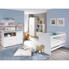Elegant Babyzimmer Susann Babybett Alpinwei Eiche Sterling Rauch M bel g nstig online kaufen
