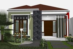 59 Best Rumah Minimalis Images Design Rumah Home Blueprints Home