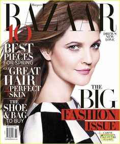 Drew Barrymore Covers 'Harper's Bazaar' March 2013