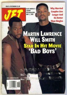 Bad Boys Movie, Bad Boys 1995, Boy Movie, Jet Magazine, Black Magazine, Magazine Cover Page, Martin Lawrence, Michael Bay, Hits Movie