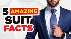 5 SUIT Facts 99% Of Men Don't Know (Do You?) #Shorts Mens Fashion, Fashion Outfits, Mens Clothing Styles, Mens Suits, Men's Style, The Man, I Am Awesome, How To Look Better, Personal Style