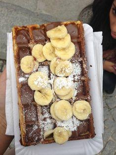 Waffles in Paris