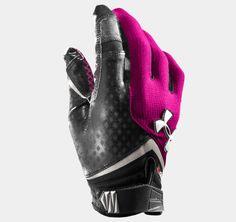 Under Armour Men's UA Nitro Football Gloves Medium Forest Green Cool Football Gloves, Football Gear, Football Cleats, Sport Football, Football Helmets, Softball, American Flag Football, Crossfit Gloves, Tactical Gloves