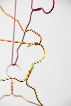 Alu hangers Copenhagen, Clothes Hanger, Bangles, Detail, Storage, Bedroom, Jewelry, Design, Room
