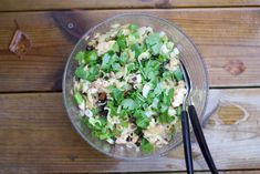 Hämmentäjä: Kanaa ja nuudelia vietnamilaisittain