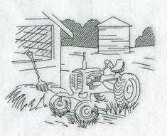 Image result for simple farm scene