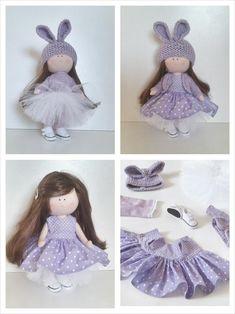 Lalka z ubrankami Crochet Hats, Fashion, Knitting Hats, Moda, Fashion Styles, Fashion Illustrations, Fashion Models