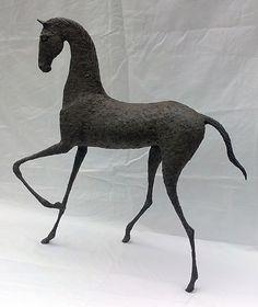 Alexandra Shorey - Isra horse sculpture